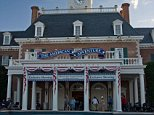 A5N6G8 The American Adventure pavilion World Showcase Epcot Walt Disney World Orlando Florida