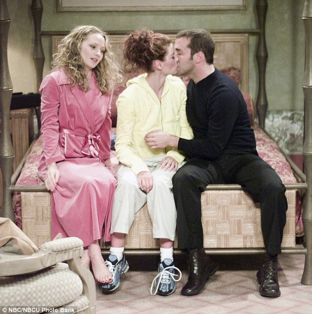 Choke: In the episode Love Plus One, Piven tried to convince Messing to have a threesome with Godzilla star Maria Pitillo