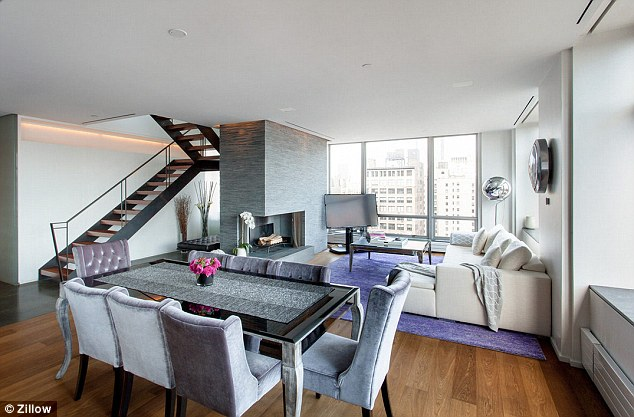 Pricey: Katie is renting her new Chelsea apartment for $25,000 per month