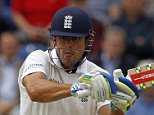 England's captain Alastair Cook hits a shot during play on the first day of the opening Ashes cricket test match between England and Australia at The Swalec Stadium in Cardiff, south Wales, on July 8, 2015. England captain Alastair Cook won the toss and elected to bat against Australia in the first Ashes Test at Cardiff's Sophia Gardens on Wednesday. AFP PHOTO / IAN KINGTON RESTRICTED TO EDITORIAL USE. NO ASSOCIATION WITH DIRECT COMPETITOR OF SPONSOR, PARTNER, OR SUPPLIER OF THE ECBIAN KINGTON/AFP/Getty Images
