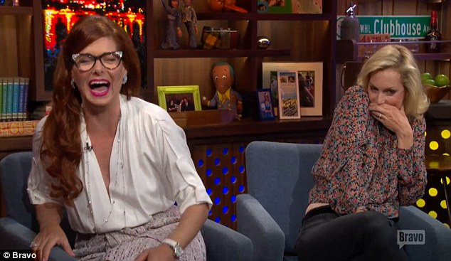 Big fan: Andy Cohen's other guest on the night Ali Wentworth immediately remembered the episode