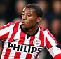 Georginio Wijnaldum of PSV and Jordy Clasie of Feyenoord battle for the ball during the Eredivisie match between PSV Eindhoven and Feyenoord Rotterdam held at the Philips Stadion on December 17, 2014 in Eindhoven, Netherlands.        EINDHOVEN, NETHERLANDS - DECEMBER 17:   (Photo by Dean Mouhtaropoulos/Getty Images)