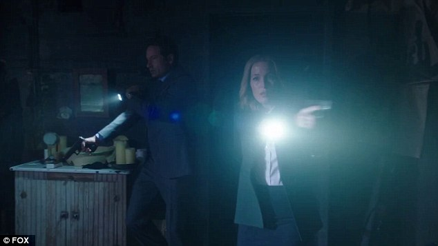 Atmospheric: It's clear that X-Files creator Chris Carter is determined to keep the signature dark look of the original series
