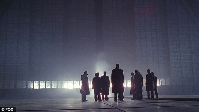 Cabal: The grey men who hid the truth from the world are also seen briefly