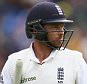 CARDIFF, WALES - JULY 08:  Ian Bell of England looks dejected after being dismissed by Mitchell Starc of Australia during day one of the 1st Investec Ashes Test match between England and Australia at SWALEC Stadium on July 8, 2015 in Cardiff, United Kingdom.  (Photo by Ryan Pierse/Getty Images)