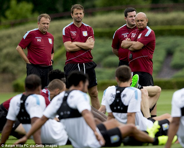 Aston Villa manager Tim Sherwood is determined to get rid of the club's 'losing mentality'