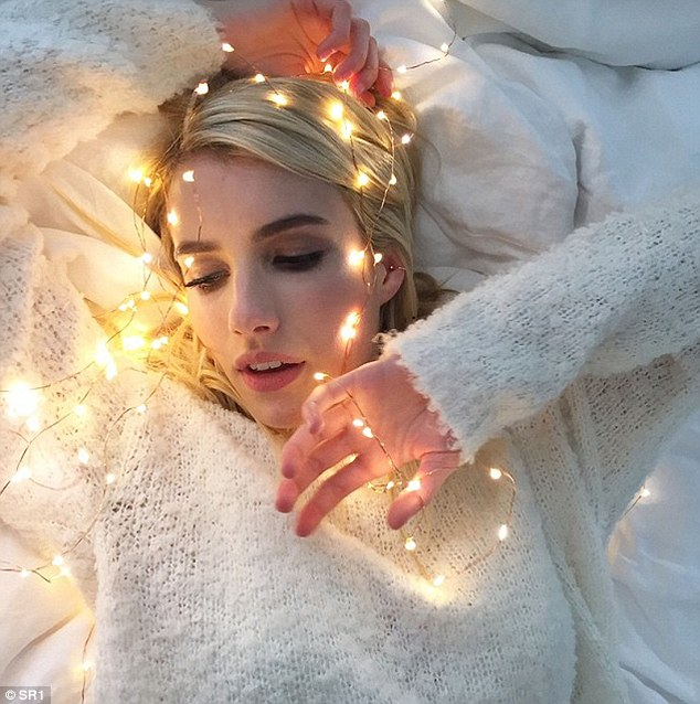 Photoshop-free: Emma Roberts is set to star in a new campaign for American Eagle brand Aerie, which will be completely unretouched. Last month she shared this image from the shoot on her Instagram account