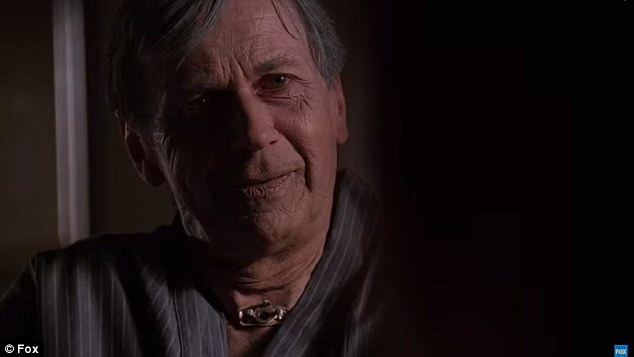 He's back: Mulder and Scully's nemesis Cigarette Smoking Man, played by Willian B. Davis, keeps the conspiracy theories going