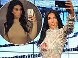 LONDON, ENGLAND - JULY 09:  Madame Tussauds unveil a new wax figure of Kim Kardashian which takes selfies against changing location backdrops at Madame Tussauds on July 9, 2015 in London, England.  (Photo by Tabatha Fireman/Getty Images)