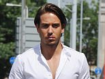 TOWIE film at Faces nightclub in Essex. Vas J Morgan turns up with a new cast member who they tried to keep under wraps.  Pictured: James Lock Ref: SPL1061727  050715   Picture by: Jaimie / Splash News  Splash News and Pictures Los Angeles: 310-821-2666 New York: 212-619-2666 London: 870-934-2666 photodesk@splashnews.com