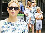 139840, EXCLUSIVE: Kelly Rutherford seen walking with her kids Hermes and Helena Giersch on Madison Avenue in New York City. New York, New York - Wednesday, July 8, 2015. Photograph: © PacificCoastNews. Los Angeles Office: +1 310.822.0419 sales@pacificcoastnews.com FEE MUST BE AGREED PRIOR TO USAGE