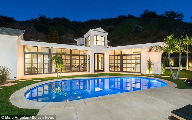 New place: Lea Michele has just purchased a stunning Brentwood, California, mansion