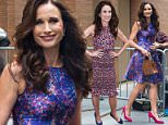 NEW YORK, NY - JULY 08:  Andie MacDowell is seen at 'The View' on July 8, 2015 in New York City.  (Photo by Alessio Botticelli/GC Images)