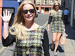 Denise van Outen seen out and about in London at Magic FM Featuring: Denise van Outen Where: London, United Kingdom When: 09 Jul 2015 Credit: WENN.com