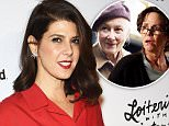 "HOLLYWOOD, CA - JANUARY 08:  Actress Marisa Tomei attends the premiere of ""Spare Parts"" at ArcLight Cinemas on January 8, 2015 in Hollywood, California.  (Photo by Paul Archuleta/FilmMagic)"
