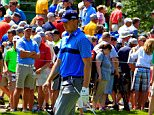 SILVIS, IL - JULY 09: Jordan Spieth reacts after his second shot on the ninth hole during the first round of the John Deere Classic held at TPC Deere Run on July 9, 2015 in Silvis, Illinois.  (Photo by Michael Cohen/Getty Images)