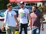 Man Uniteds David DeGea was joined by Anders Herrera and Juan Mata on a shopping trip to The Trafford Centre on Tuesday afternoon. The 3 footballers walked round the car park looking for their car after the visited some shops which included Selfridges....... 7.7.15.