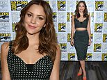 """July 9, 2015 San Diego, Ca.\nKatharine McPhee\nCBS presents the cast of """"Scorpion"""" at Comic-Con 2015 held at the Bayfront Hilton Hotel\n© Tammie Arroyo / AFF-USA.COM"""