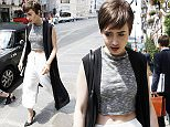 Lily Collins out and about in Paris Featuring: Lily Collins Where: Paris, France When: 09 Jul 2015 Credit: WENN.com **Not available for publication in France**