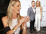 LONDON, ENGLAND - JULY 08:  Ronan Keating and Storm Uechtritz attend the summer dinner hosted by Harrys of London and Mr Porter at at Burlington Arcade on July 8, 2015 in London, England.  (Photo by David M. Benett/Dave Benett / Getty Images for Harrys of London)