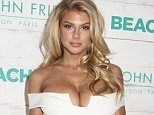 John Frieda Hair Care Hosts Beach Blonde Collection Beach Party\n\nFeaturing: Charlotte McKinney\nWhere: New York, New York, United States\nWhen: 05 Feb 2015\nCredit: WENN.com