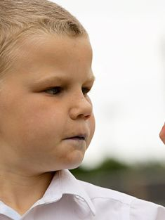 Man literally washed child's mouth out with soap