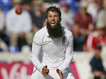 Cricket - England v Australia - Investec Ashes Test Series First Test - SWALEC Stadium, Cardiff, Wales - 9/7/15  Englandís Moeen Ali   Action Images via Reuters / Jason Cairnduff  Livepic