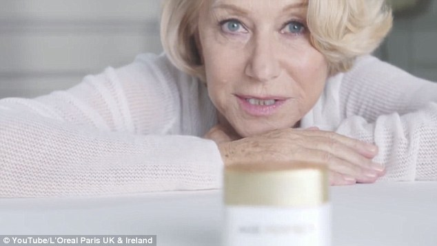 The viewer challenged whether both ads - for L'Oreal Paris Age Perfect moisturising cream - 'misleadingly exaggerated' the likely effect that could be achieved by using the product, which costs £24 for 100ml