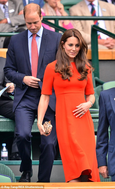 Family fans: James Middleton was also recently at Wimbledon