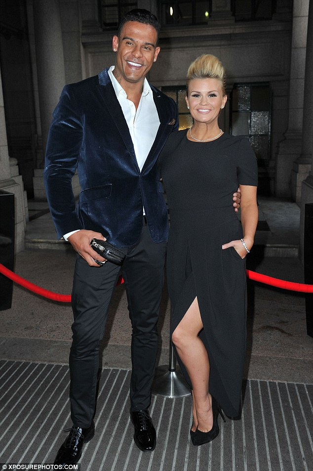 On the rocks: George, seen here together in May 2015,is thought to have reacted badly when she kicked him out of their home after only nine months of marriage