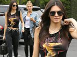 West Hollywood, CA - Kendall Jenner and Hailey Baldwin join a friend during a trip to Fred Segal Weho location, the young reality tv star turned model just returned from Paris, where she stunned walking the runway during Fashion Week.\\n \\nAKM-GSI       July  8, 2015\\nTo License These Photos, Please Contact :\\nSteve Ginsburg\\n(310) 505-8447\\n(323) 423-9397\\nsteve@akmgsi.com\\nsales@akmgsi.com\\nor\\nMaria Buda\\n(917) 242-1505\\nmbuda@akmgsi.com\\nginsburgspalyinc@gmail.com