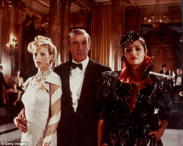 The stage production will feature both new and classic villains from the franchise, as well as a new Bond girl. Pictured here is Sean Connery with Kim Bassinger and Barbara Carrera in Never Say Never (1983)