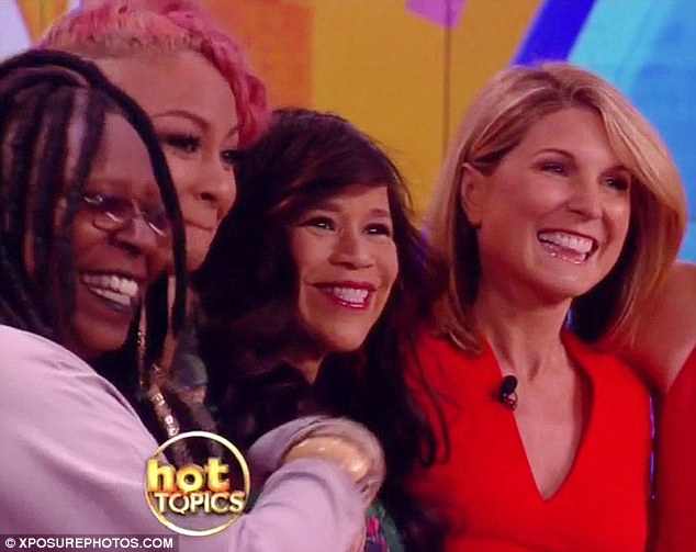 Fantastic four: Whoopi Goldberg. Raven Symone, Rosie and Nicolle Wallace (pictured from left to right) are all current co-hosts of the show