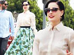 139836, EXCLUSIVE: Dita Von Teese is seen after having lunch with friends in Los Angeles. Los Angeles, California - Wednesday, July 8, 2015. Photograph: KVS/Pedro Andrade, © PacificCoastNews. Los Angeles Office: +1 310.822.0419 sales@pacificcoastnews.com FEE MUST BE AGREED PRIOR TO USAGE