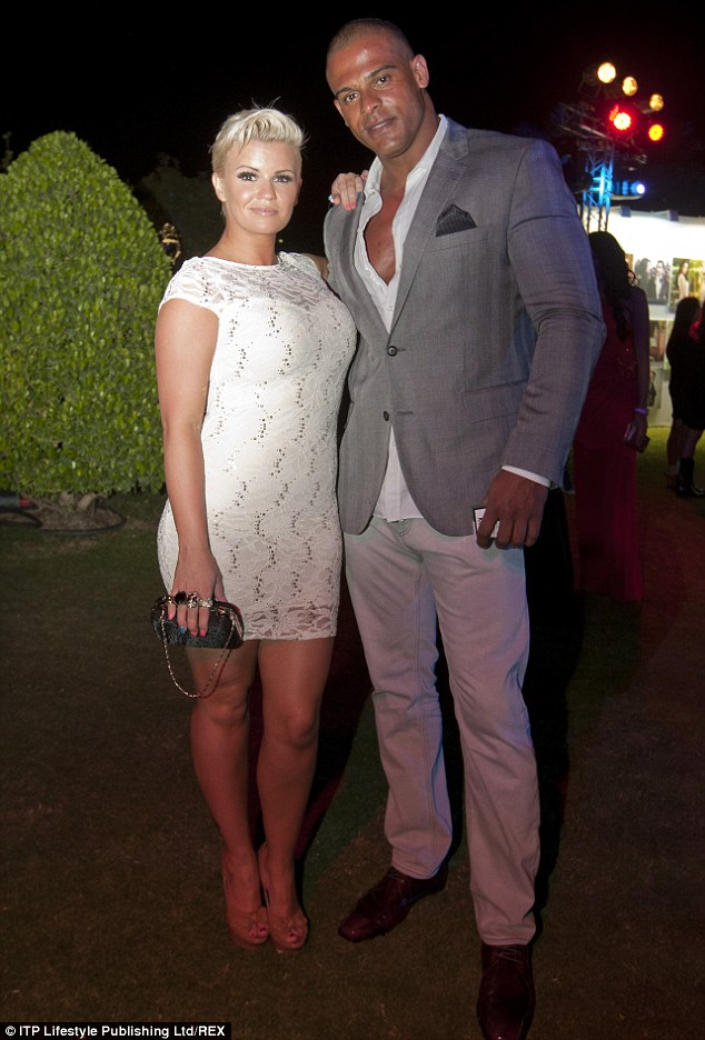 Hospitalised: Kerry Katona's husband George Kay is said to have been hospitalised on the night that he was kicked out of the family home