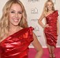 PARIS, FRANCE - JULY 07:  Kylie Minogue attends the photocall for the Lancome Celebrates 80 Years of Beauty With All Its Ambassadresses on July 7, 2015 in Paris, France.  (Photo by David M. Benett/Dave Benett/Getty Images for Lancome)