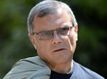 Martin Sorrell, chief executive officer of WPP Group attends day three of the Allen & Company's 30th Annual Media and Technology Conference in Sun Valley Idaho, America.  epa03305083 EPA/ANDREW GOMBERT