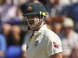 CARDIFF, WALES - JULY 10:  Stuart Broad of England celebrates after taking the wicket LBW of Shane Watson of Australia during day three of the 1st Investec Ashes Test match between England and Australia at SWALEC Stadium on July 10, 2015 in Cardiff, United Kingdom.  (Photo by Ryan Pierse/Getty Images)