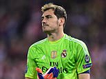 File Photo: Real Madrid have agreed terms with Porto for the transfer of Iker Casillas Real Madrid goalkeeper Iker Casillas ... Soccer - UEFA Champions League - Quarter Final - First Leg - Atletico Madrid v Real Madrid - Vicente Calderon ... 14-04-2015 ... Madrid ... Spain ... Photo credit should read: Adam Davy/EMPICS Sport. Unique Reference No. 22800968 ...