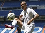 Danilo was unveiled at Madrid on Thursday