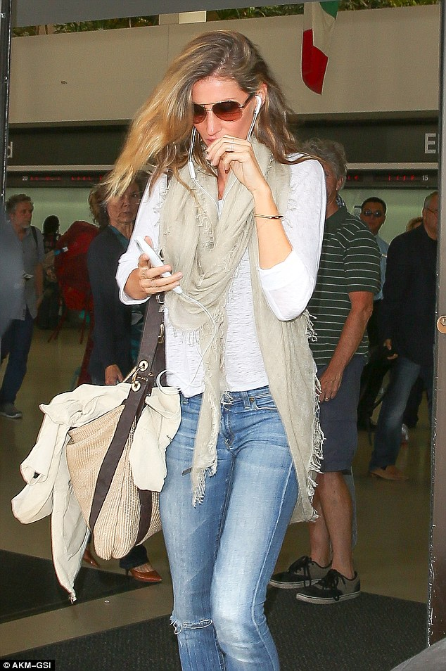 Still at it! Though she's off the runway, Gisele has remained busy with her lingerie company,Gisele Bundchen Intimates