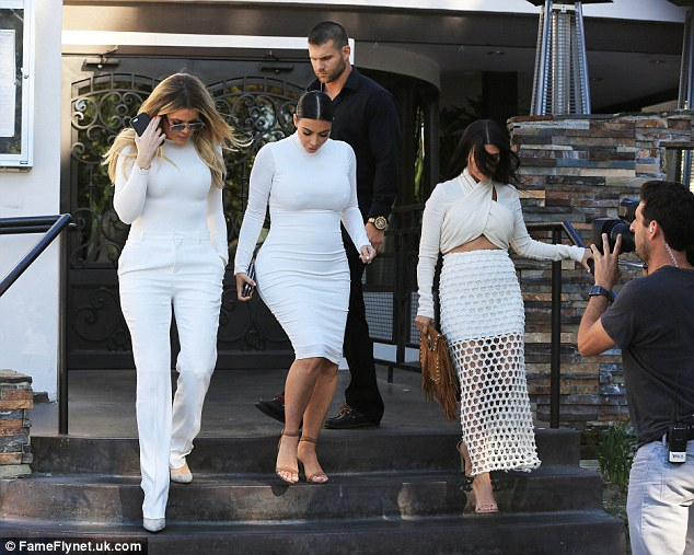 Girls on film: It's likely that Keeping Up With The Kardashians will document the latest blow to Kourtney's personal life