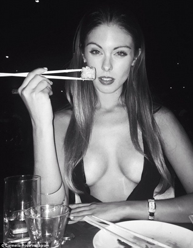 Would you like sushi with that? In recent chat with Maxim , the blonde model was VERY honest about her sexual prowess and how she likes to please in the bedroom, something Cody could possibly look forward to