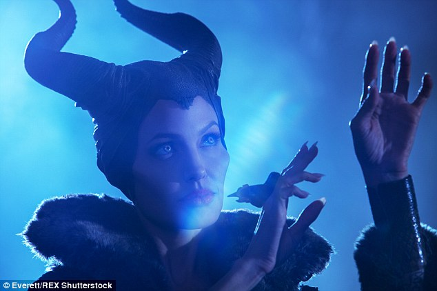 Not bad: Angelina Jolie brought in massive success as Maleficent