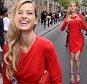 Celebrities attend the Elie Saab fashion show during Paris Fashion Week in Paris, France.  Pictured: Karolina Kurkova Ref: SPL1073190  080715   Picture by: Splash News  Splash News and Pictures Los Angeles: 310-821-2666 New York: 212-619-2666 London: 870-934-2666 photodesk@splashnews.com