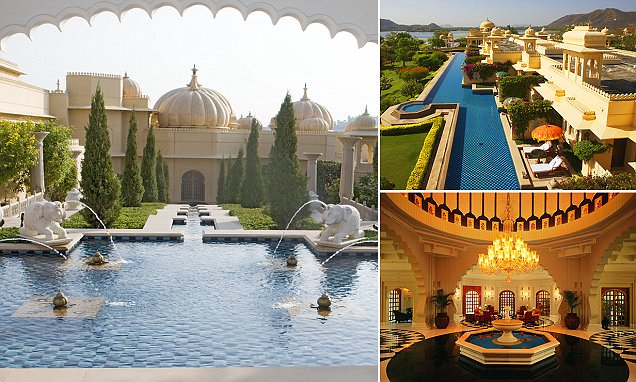 Inside India's Oberoi Udaivilas palace which has been voted as world's best hotel