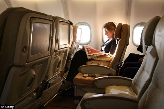 Elite fliers are upgraded to first class typically five days before your trip, freeing up their seat for you to select