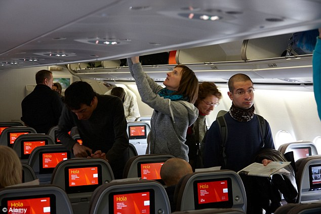 When competition is steep and if all else fails, offer nearby passengers food or a drink to switch seats