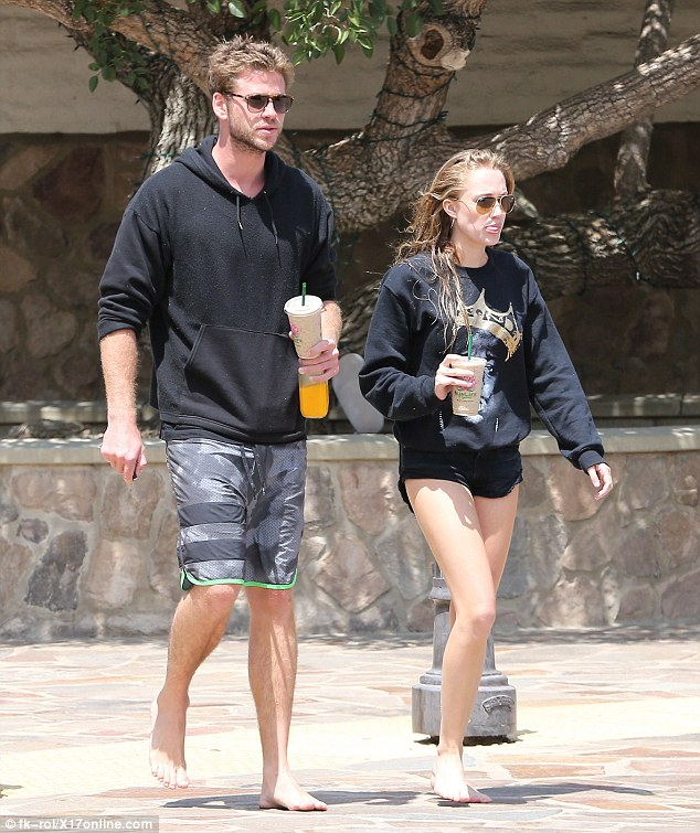 On set romance? Liam Hemsworth is reportedly dating his Independence Day co-star Maika Monroe,  and they stepped out together in Malibu, California, on Tuesday