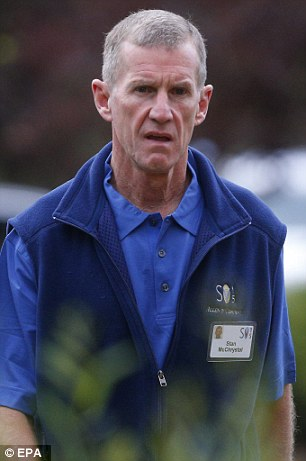 Stan McChrystal, retired United States Army general,